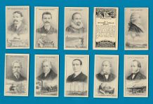 Cigarette cards set Scientific Inventions & Discoveries, AirShip, Aeroplane, X-Ray